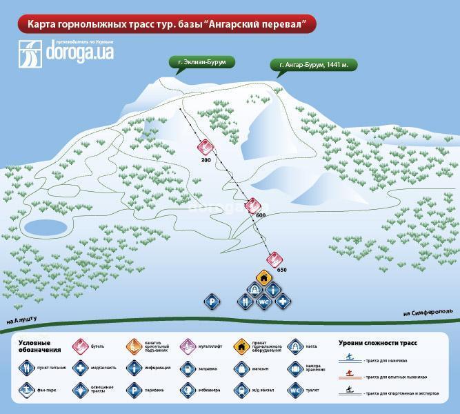 Горнолыжный курорт на Ангарском перевале
