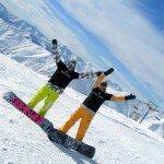 Горные лыжи в Гудаури