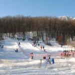Зима на Ангарском перевале